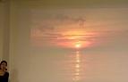 アフリカの夕陽